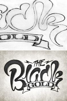 custom lettering logo
