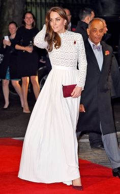 Kate Middleton Wows in White for Movie Premiere Supporting Anti-Addiction Charity | E! News