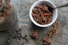 Chocolate Granola, Crock-pot Option
