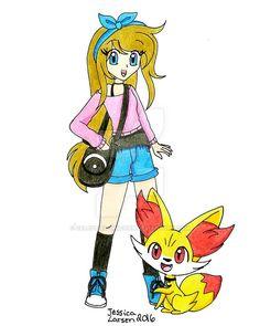 Redesigned Pokemon Performer sona by Celestial-Unicorn