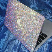 AlwaysSS Bling Handmade Rhinestone Macbook Case Cover by AlwaysSS