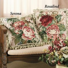 floral needlepoint pillow - Google Search