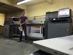 Calibración de color impresora HP LX600