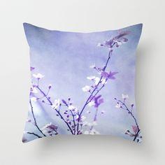 Spring Throw Pillow by Viviana González - $20.00