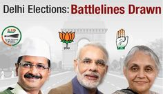 Who will win in Delhi Elections 2015? A: BJP B: AAP C: Congress  See more @ bit.ly/15pTfxS