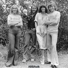 Instagram media abbatalk - We just ❤️ this happy photo #ABBA