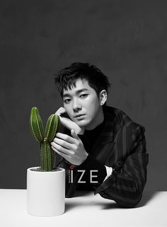 Aron (Nu'est) - Ize Magazine October '16