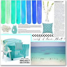 """Seaside Glamour"" by cecilie-1998 on Polyvore"