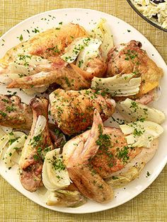 Chicken Express: Healthy Family Dinners: Baked Greek Chicken (via Parents.com)