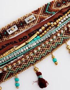 Enlarge Hipanema Turquoise Friendship Bracelet