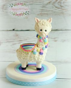 Llama Cake Topper Llama Cake Topper,Vee's birthday Fondant llama perfect for baby showers and birthday cakes Related posts:Beliebte Acryl Sarg Nail Designs; Fondant Cakes Kids, Fondant Cake Toppers, Fondant Baby, Cupcake Cakes, Fondant Rose, 3d Cakes, Fondant Flowers, Toddler Birthday Cakes, Cake Birthday
