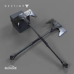 Destiny - Rise of Iron - Titan Axes - (New Subclass?)