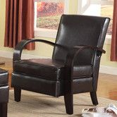 MAYBE FOR PROVIDER OFFICES --Found it at Wayfair - Wonda Bonded Leather Arm Chair