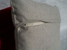 Krista Sew Inspired: Pillow Cover with Hidden Zipper - Tutorial