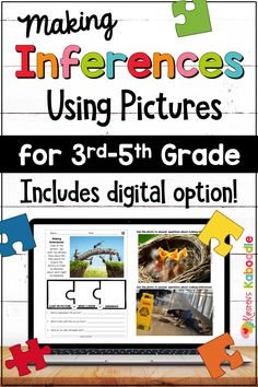 Inference Activities, Speech Therapy Activities, Learning Activities, Teaching Resources, Teaching Ideas, Comprehension Strategies, Reading Comprehension, Inference Pictures, Making Inferences