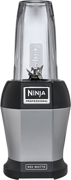 Enjoy exclusive for Nutri Ninja Pro Personal Blender 900 Watt Base Vitamin Nutrient Extraction Shakes Smoothies 18 Cups (Renewed) online - Chictrendyfashion Mini Blender, Portable Blender, Ninja Bullet, Single Serve Blenders, Professional Blender, Smoothie Makers, Best Blenders, Black Appliances, Specialty Appliances