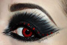 5d0c0fb0a22 sexy spooky make up Creative Makeup, Punk Makeup, Rave Makeup, Gothic  Makeup,