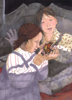 Illustrator and Author: Patricia Polacco. Butterfly Artwork, Monarch Butterfly, Book Illustrations, Children's Book Illustration, Patricia Polacco, Children's Picture Books, Reading Time, Children's Literature, Nursery Rhymes