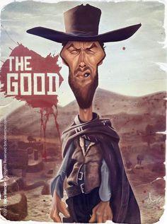 Clint Eastwood por Brice Mercier