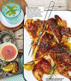 Chicken Braised With Potatoes and Pine Nuts Recipe - NYT Cooking Achiote Chicken, Spatchcock Chicken, Lemon Chicken, Grilled Chicken, Best Chicken Thigh Recipe, Easy Chicken Thigh Recipes, Chicken Recipes, Best Bbq Recipes, Popular Recipes
