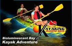 Kayak Bioluminescent Bay in Puerto Rico!  I want to do this again!