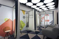 Retail Design | Store Interiors | Shop Design | Visual Merchandising | Retail Store Interior Design | Changing Rooms | Dalziel and Pow - Work - Lindex