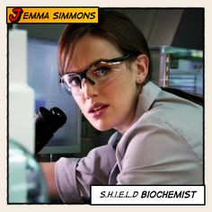 Marvel Ladies Comic Strips - Dr. Jemma Simmons (Agent of SHIELD) All Movies, Movies And Tv Shows, Movie Tv, Shield Cast, Elizabeth Henstridge, Marvel Women, Agent Carter, Marvel Universe, Comic Strips