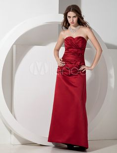 #Milanoo.com Ltd          #Bridesmaid Dresses       #Strapless #Pleated #Satin #Burgundy #Pretty #Bridesmaid #Dress               Strapless Pleated Satin Burgundy Pretty Bridesmaid Dress                                                http://www.seapai.com/product.aspx?PID=5698199