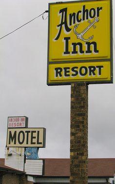 Anchor Inn Resort Motel.....New Johnsonville, Tennessee