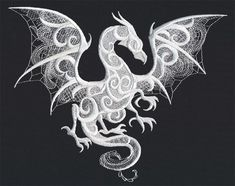 Dragon Smoke | Urban Threads: Unique and Awesome Embroidery Designs