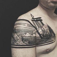 Thieves of Tower, un projet américain né de la collaboration entre le tatoueur et artiste Houston Patton et le creative director Dagny Fox