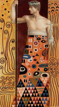 Golden Klimt- IIII - The Emperor