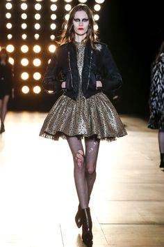 Saint Laurent Fall/Winter 2015-2016 Fashion Show
