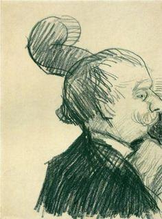Double-Bass Player - Vincent van Gogh