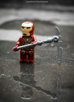 LEGO The Avengers Reflection of Iron Man  #Toy Photography