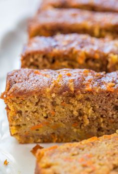 Carrot Apple Bread - Super moist, packed with flavor, fast and easy!