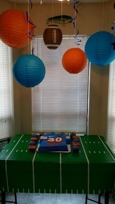 Florida Gators themed birthday party