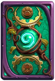 Ysera Backcard Hearthstone, Guillaume Beauchêne on ArtStation at https://www.artstation.com/artwork/rXqOE