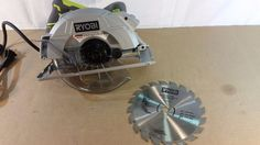 "Ryobi CSB144LZK 7-1/4"" 15 Amp circular saw with laser, Tools, Home 12272016.25 #Ryobi"