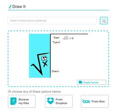 Leave it to the talented and clever Mathy Cathy​ to use Keynote slides as student drawing response canvases for Nearpod​!  I totally dig this idea and this deck is FREE too!  https://app.nearpod.com/#/?&library_preview=783d5d8c1922c778e7a091ee02c9067d