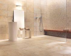 Romania, Alcove, Bathtub, Bathroom, Showroom, Travertine, Standing Bath, Washroom, Bathtubs