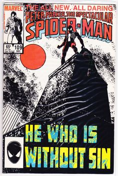 Title: Spectacular Spider-Man (Peter Parker) | Year: 1976 | Publisher: Marvel | Number: 109 | Print: 1 | Type: Regular | TitleId: 5d40f9ff-adb2-4cbd-8b93-352766854c89