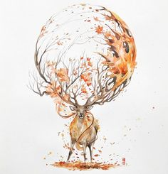 Watercolor Has An Unpredictable Character That Let Me Create Expressive Animal Paintings | Bored Panda
