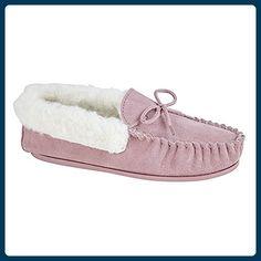 Mokkers Damen Emily Hausschuhe (5 UK/38 EU) (Pink) - Hausschuhe für frauen (*Partner-Link)