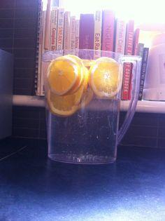 Fruit Infused Water. Orange Water Detox. Health in your Home. https://www.facebook.com/HealthinyourHomeJP/