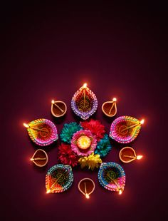 Colorful diya lamps lit during diwali celebration stock photo Happy Diwali Wishes Images, Happy Diwali Wallpapers, Diwali Greetings Quotes, Happy Diwali Photos, Diwali Quotes, Diwali Festival Of Lights, Diwali Lights, Diwali Lamps, Simple Rangoli Designs Images