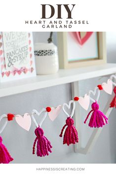 DIY Heart and Tassel...