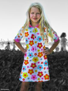 Beautiful ecological, multifunctional dress from Solamigos. www.solamigos.com