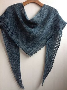 Simple Shawl by Jane