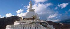 Stupas in Thiksey Monastery